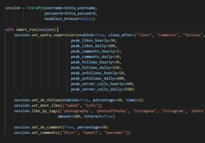 Python初心者がInstagramの自動化ツール(bot)を作成しようと挑戦して挫折した件(InstaPyとWindows10)